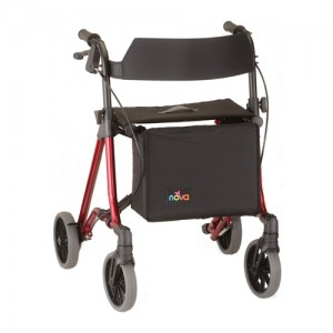 NOVA Forté 23″ Rolling 4-Wheel Walker Model # 4323