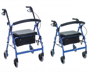 Essential FeatherLight Demi 4-Wheel Walker Model # W1660
